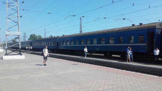 V.Mikaičio nuotr./Mariupolio stotyje