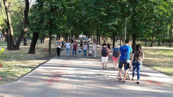 V.Mikaičio nuotr./Mariupolio parkas