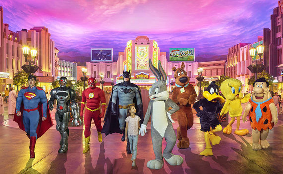 Warner Bros World Abu Dabyje