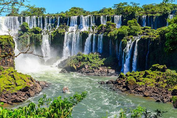 Shutterstock.com nuotr./Igvasu nacionalinis parkas, Brazilija ir Argentina