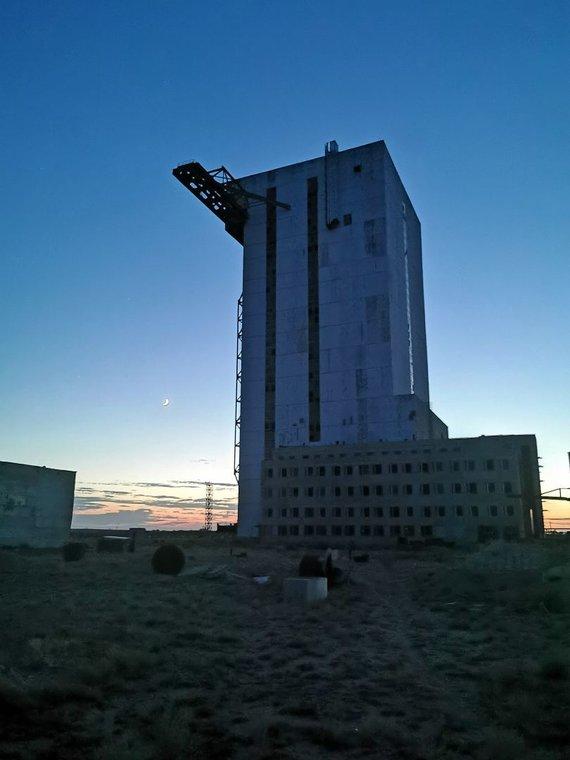 Š.Jasiukevičiaus nuotr./Baikonuro kosmodromas
