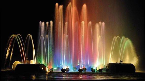 Lazdijų TIC nuotr./Ančios ežero fontanas