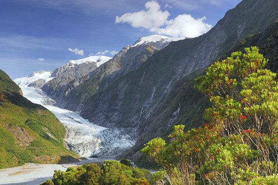 Shutterstock.com nuotr./Prano Juozapo Ledynas, Naujoji Zelandija