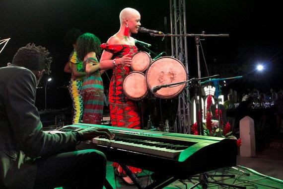 K,Stalnionytės nuotr./Viena šiuolaikinių Kubos dainininkių Brenda Navarrete
