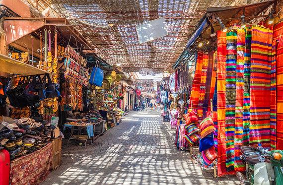 Shutterstock.com nuotr./Marakešas, Marokas