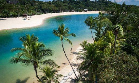 Shutterstock.com nuotr./Paplūdimys Singapūre