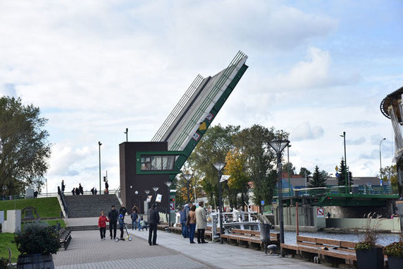 Egidijaus Jankausko/Vakarų ekspreso nuotr./Tiltai Klaipėdoje