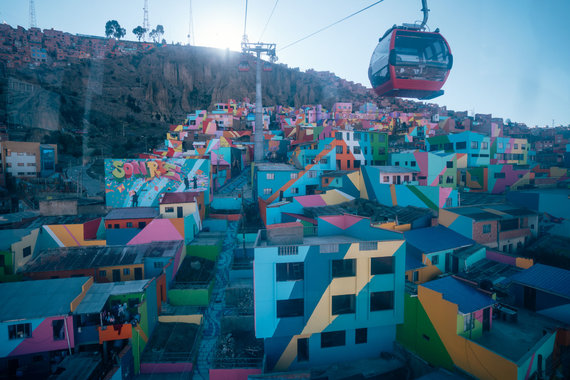 Organizatorių nuotr./Paul de Miko ir Deivido Bendžiaus nuotykiai Bolivijoje