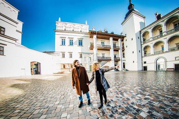 """Go Vilnius"" nuotr./Valdovų rūmų kiemas"