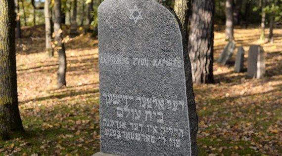 Polinos Butkienės nuotr./Senosios žydų kapinės