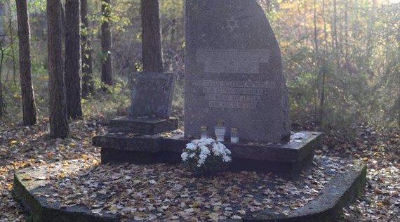Polinos Butkienės nuotr./Žydų žudynių vieta ir kapas