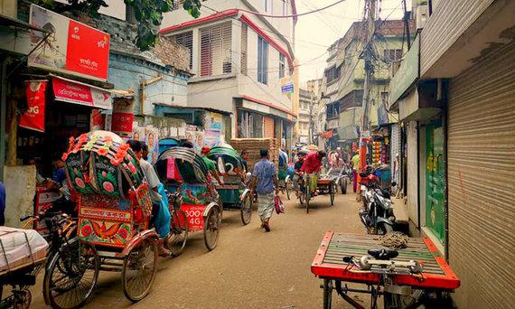 D.Barkausko nuotr./Bangladešo gatvės