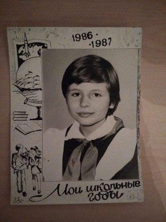 Asm.archyvo nuotr./Tatjana vaikystėje