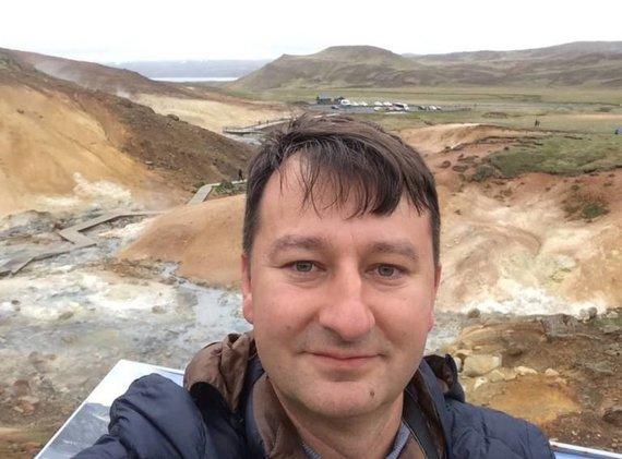 Asm.archyvo nuotr./Robertas Pogorelis Islandijoje
