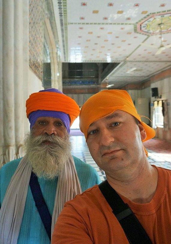 Asm.archyvo nuotr./Robertas Pogorelis Indijoje
