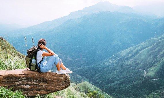 Shutterstock.com nuotr./Adomo viršukalnė Šri Lankoje