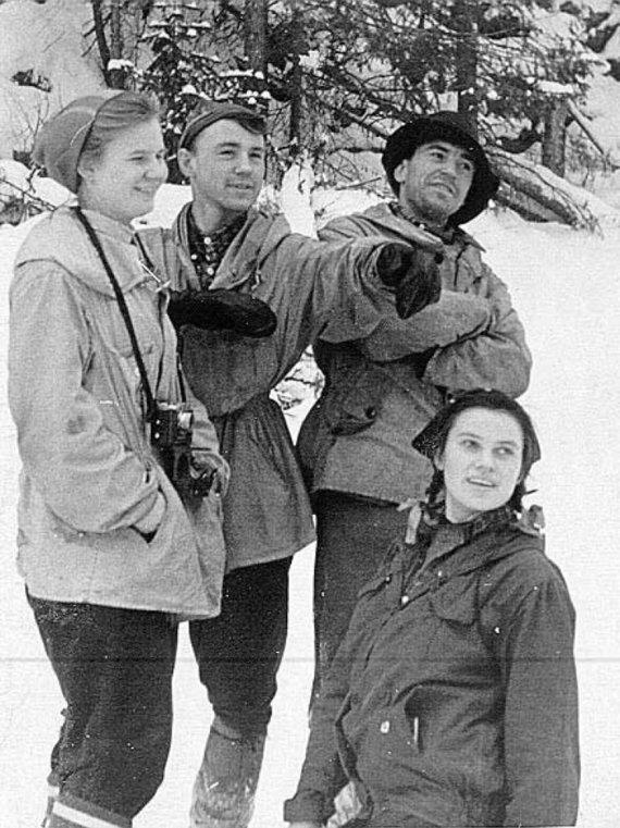 Sovietų Sąjungos archyvų nuotr./Ekspedicijos nariai
