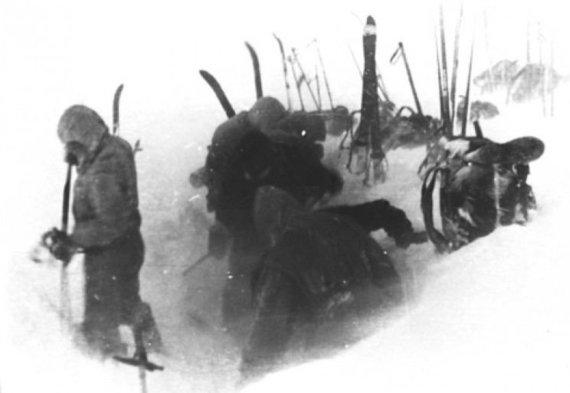 Sovietų Sąjungos archyvų nuotr./Paskutinė komandos stovykla