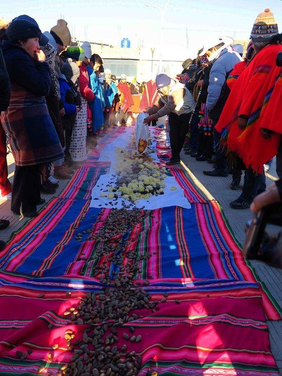 V.Batkauskienės nuotr./Naujųjų metų sutikimas Peru