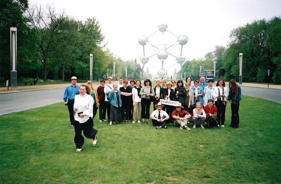 Briuselis, Atomiumo muziejus, Novaturo archyvo nuotr.