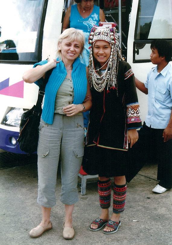 Tailandas, svečiuose pas kalnų gentis, Novaturo archyvo nuotr.