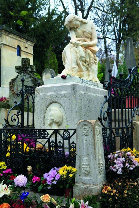 Vytauto Kandroto nuotr./F. Chopin kapas Per Lašezo kapinėse