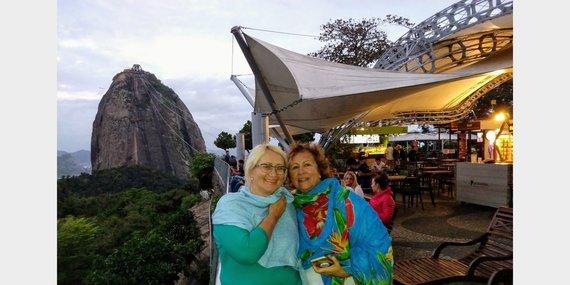 Asm.archyvo nuotr./Kelionė Brazilijoje