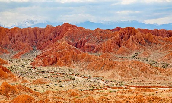 L.Šapokos nuotr./Pasakos (Skazka) kanjonas Kirgizijoje