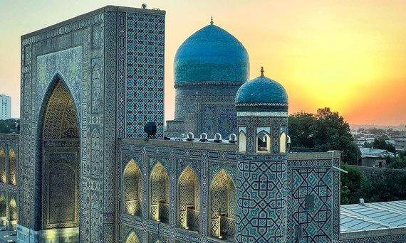 G.Šapokos nuotr./Vidurio Azijos architektūra Uzbekistane