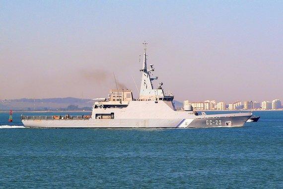 """""""Wikimedia Commons"""" nuotr./""""ANBV Naiguata"""" (GC-23) – Venesuelos karinio jūrų laivynų patrulinis laivas"""