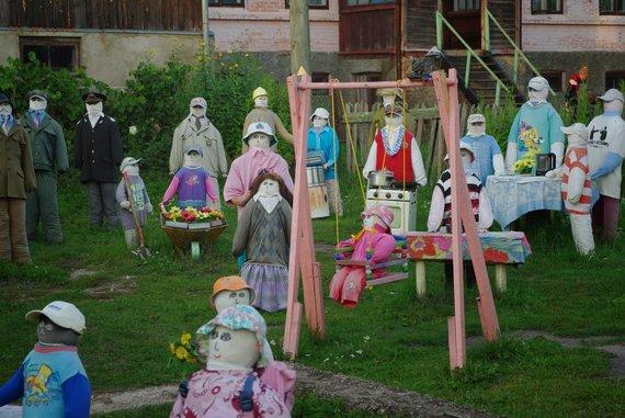 V.Greičiaus nuotr./Lėlių sodas Sabilėje