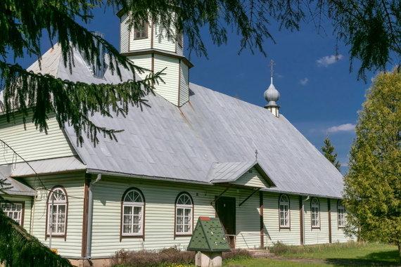 K.Stalnionytės nuotr./Utenos šv. Mykolo sentikių cerkvė