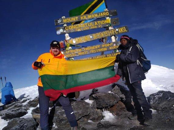 M.Puidoko nuotr./Kopimas į Kilimandžarą