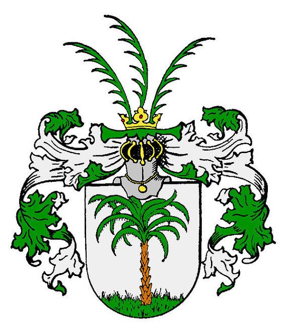 """""""Wikimedia Commons"""" iliustr./Baronų von Keyserlingkų herbas"""