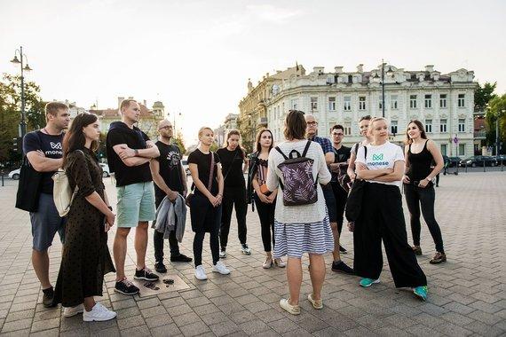 """""""Go Vilnius"""" nuotr./""""Monese"""" atstovai gyrė Vilnių kaip palankią vietą finansų technologijų įmonėms"""