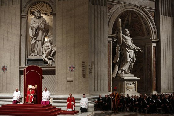 "AFP/""Scanpix"" nuotr./Popiežius Pranciškus Vatikane"