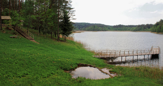 Lino verdenė kaip magnetas traukia Sirvėtos regioninio parko lankytojus