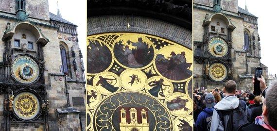 Indrės Bungardaitės/15min.lt nuotr./Astronominis laikrodis