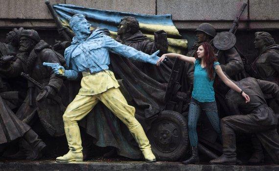 """""""Reuters""""/""""Scanpix"""" nuotr./Sovietinis paminklas Bulgarijoje"""