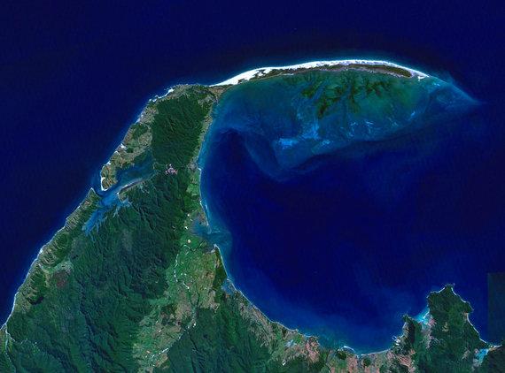 NASA nuotr./Atsisveikinimo nerija Naujojoje Zelandijoje