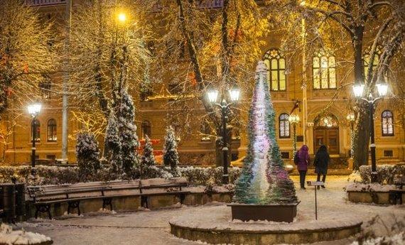 """""""Latvia travel"""" nuotr./Kalėdinių eglučių kelias"""