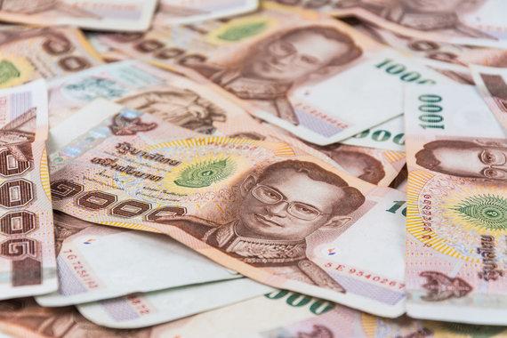 123rf.com nuotr./Tailando pinigai