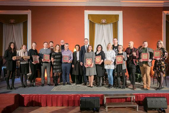 """Sauliaus Žiūros nuotr./""""Vilniaus svetingumo 2017"""" apdovanojimai"""