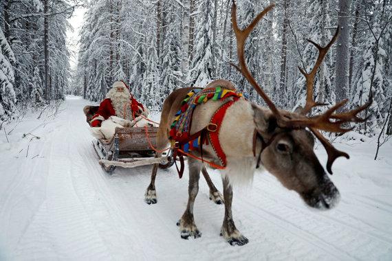 """Reuters""/""Scanpix"" nuotr./Kalėdos Rovaniemyje"