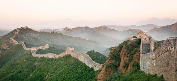 Shutterstock.com nuotr./Didžioji kinų siena