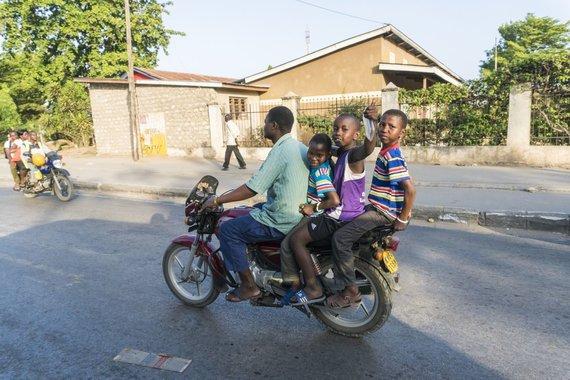 Asm.archyvo nuotr./Motociklas, Kenija