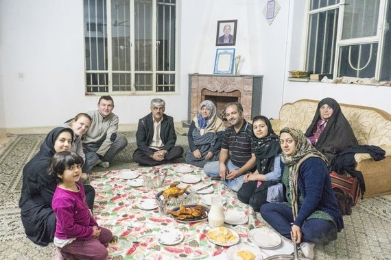 Asm.archyvo nuotr./Vakarienė iranietiškai
