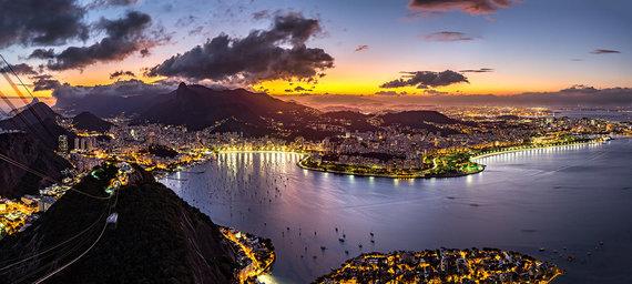 Shutterstock.com nuotr./Rio de Žaneiro uostas