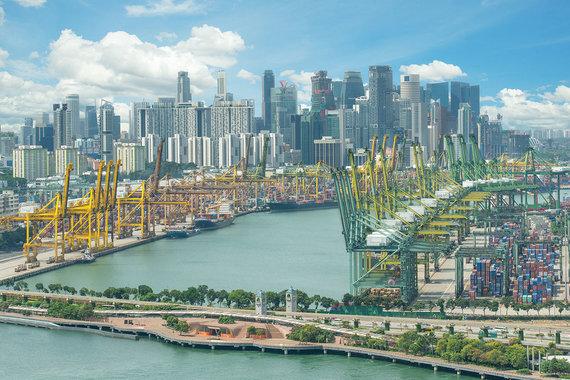 Shutterstock.com nuotr./Singapūro uostas