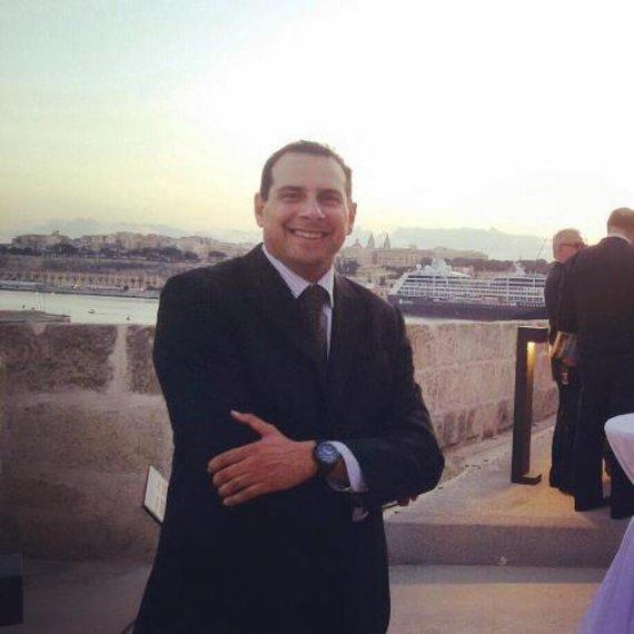 """""""Air Malta"""" atstovas spaudai Stephenas Gauci"""